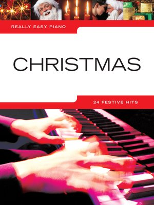 cover image of Really Easy Piano: Christmas
