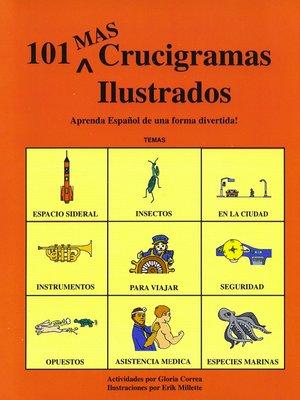 cover image of Mas De 101 Crucigramas Ilustrados