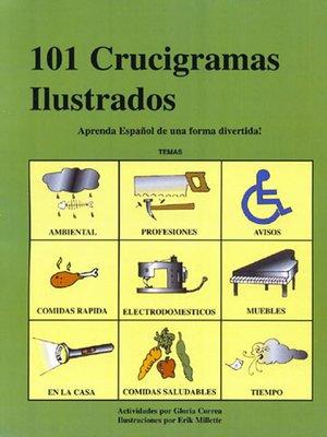 cover image of 101 Crucigramas Ilustrados