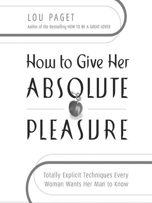 how to give a woman great pleasure