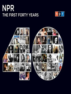 cover image of NPR--The First Forty Years