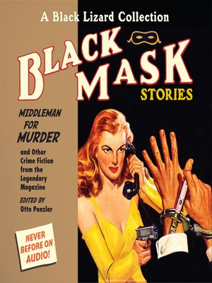 cover image of Black Mask 11: Middleman for Murder