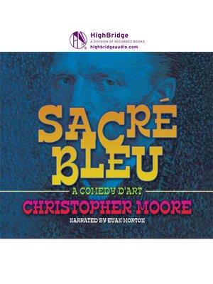 cover image of Sacre Bleu