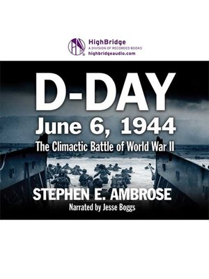 cover image of D-Day: June 6, 1944