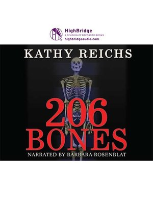 cover image of 206 Bones