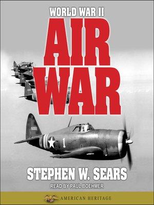 cover image of World War II--Air War