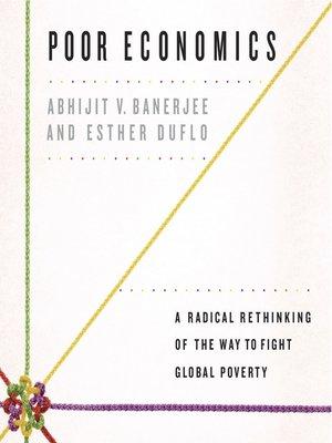 cover image of Poor Economics