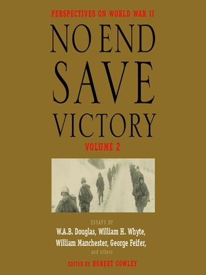 cover image of No End Save Victory