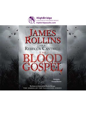 cover image of The Blood Gospel