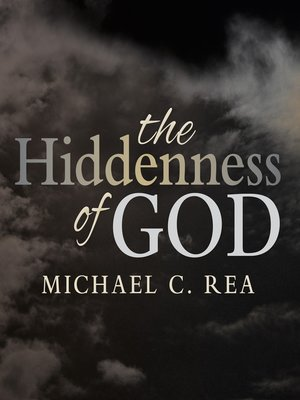 cover image of The Hiddenness of God