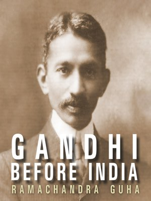 cover image of Gandhi Before India