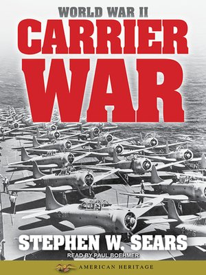 cover image of World War II--Carrier War