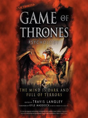 cover image of Game of Thrones Psychology