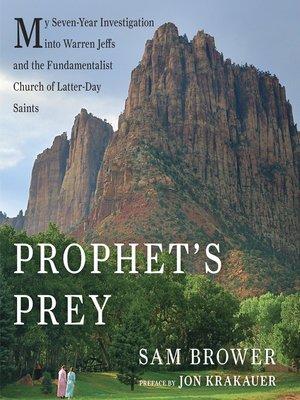 cover image of Prophet's Prey