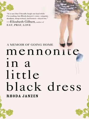 cover image of Mennonite in a Little Black Dress