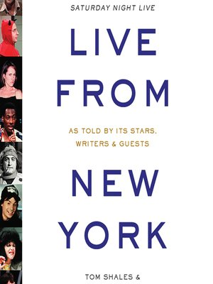 cover image of Live from New York