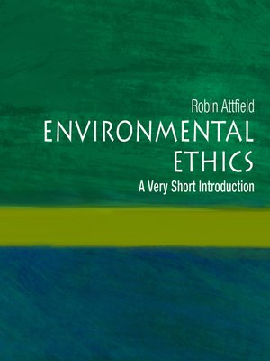 cover image of Environmental Ethics