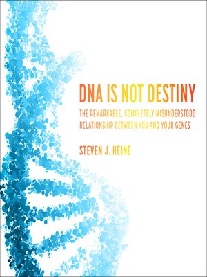 cover image of DNA Is Not Destiny