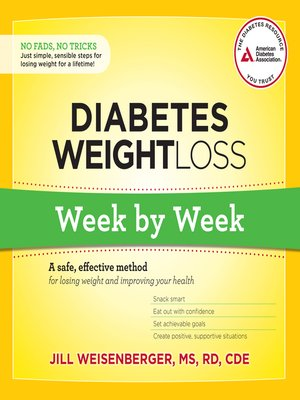 cover image of Diabetes Weight Loss--Week by Week