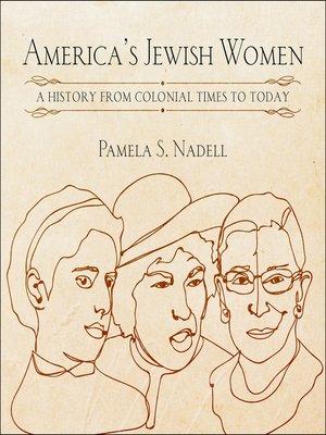 cover image of America's Jewish Women