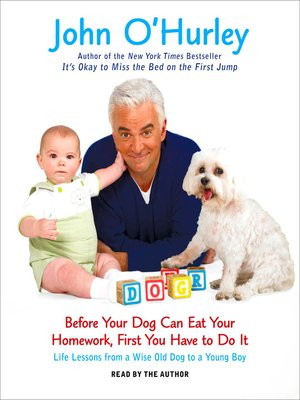 cover image of Before Your Dog Can Eat Your Homework, First You Have to Do It
