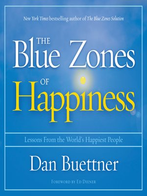 cover image of The Blue Zones of Happiness