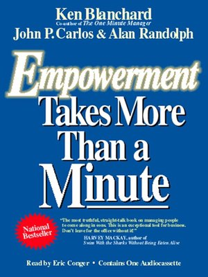 cover image of Empowerment Takes More Than a Minute