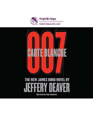 cover image of Carte Blanche