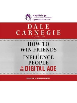 cover image of How to Win Friends & Influence People in the Digital Age