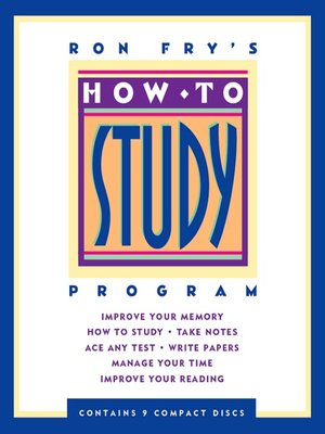 cover image of How to Study Program