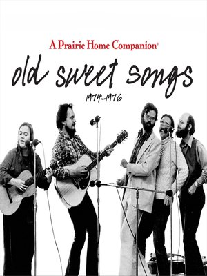 cover image of Old Sweet Songs
