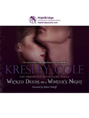 cover image of Wicked Deeds on a Winter's Night