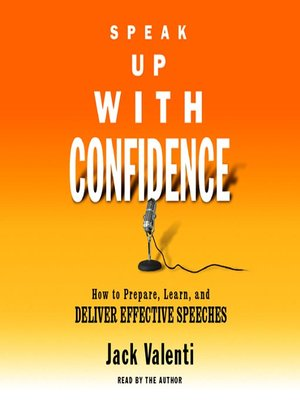 cover image of Speak Up With Confidence