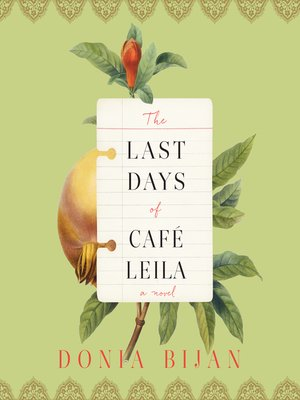 cover image of The Last Days of Café Leila