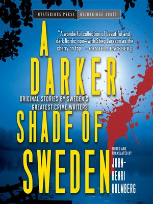 cover image of A Darker Shade of Sweden