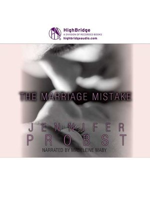cover image of The Marriage Mistake