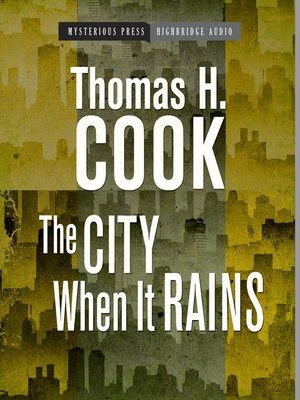 cover image of The City When It Rains