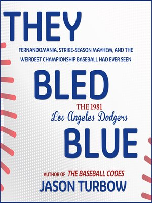 cover image of They Bled Blue