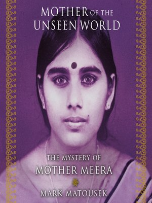 cover image of Mother of the Unseen World