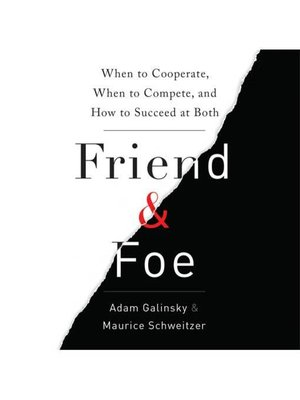 cover image of Friend and Foe
