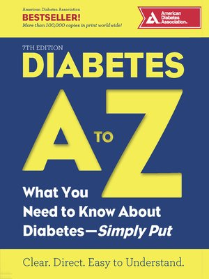 cover image of Diabetes a to Z