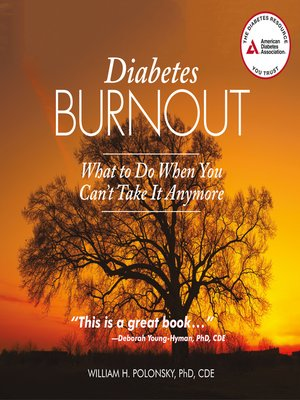 cover image of Diabetes Burnout