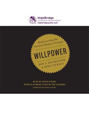 cover image of Willpower