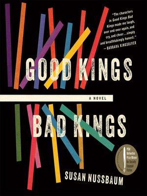 cover image of Good Kings Bad Kings