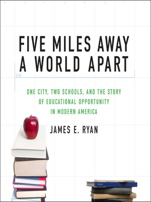 cover image of Five Miles Away, a World Apart