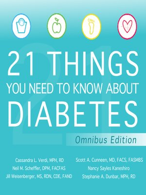 cover image of 21 Things You Need to Know About Diabetes Omnibus Edition