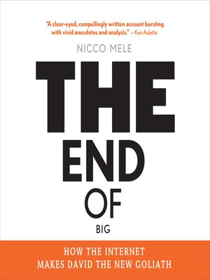 cover image of The End of Big