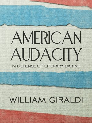 cover image of American Audacity