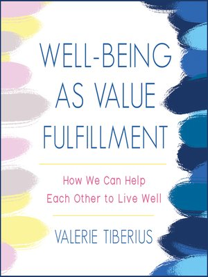 cover image of Well-Being as Value Fulfillment
