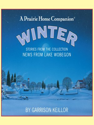 cover image of News from Lake Wobegon--Winter